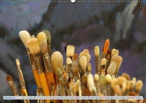 Atelierbesuch (Wandkalender 2017 DIN A2 quer)