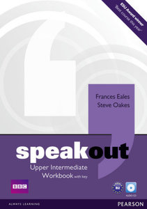 Speakout Upper Intermediate Workbook (with Key) and Audio CD