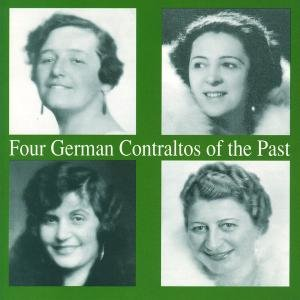 Four German Contraltos Of The
