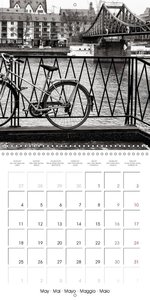 A View Of Frankfurt On The Main (Wall Calendar 2015 300 × 300 mm