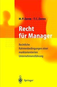 Recht für Manager