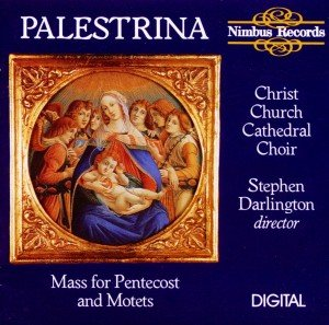 Palestrina Mass For Pentacost
