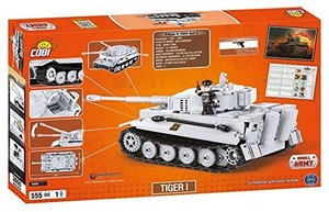 COBI 3000 - Tiger I, World of Tanks, Small Army, grau