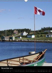 Canada Province Nova Scotia (Wall Calendar 2015 DIN A3 Portrait)