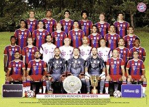 Ravensburger 13095 - FC Bayern München, Sais.14/15