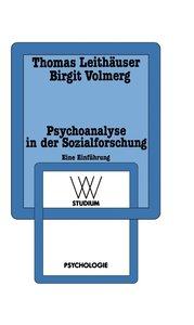 Psychoanalyse in der Sozialforschung