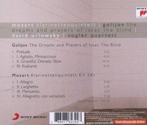 Dreams and Prayers/Klarinettenquintett KV 581
