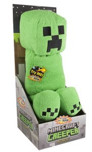Minecraft - Plüsch-Creeper mit Sound