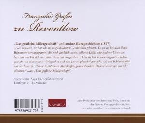 F.Gräfin zu Reventlow:Das gräfliche Milchgeschäft