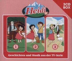 Heidi Heidi - 3-CD Hörspielbox Vol. 1