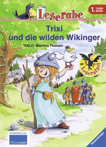 Leserabe: Trixi und die wilden Wikinger