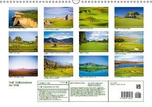 Golf: Golfparadiese der Welt (Wandkalender 2016 DIN A3 quer)
