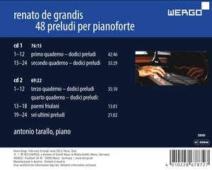 Movimento perpetuo-Preludi per pianoforte