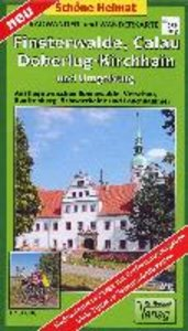 Radwander- und Wanderkarte Finsterwalde, Calau, Doberlug-Kirchha