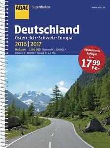 ADAC SuperStraßen 2016/2017 Deutschland, Österreich, Schweiz & E