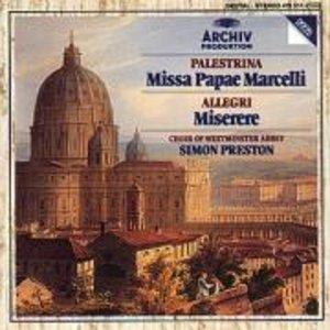 Missa Papae Marcelli/Tu Es Pet