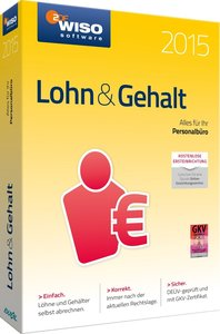 WISO Lohn & Gehalt 2015 - Alles für Ihr Personalbüro!