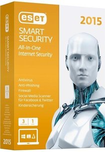 ESET Smart Security 2015 Edition 3 User (Mini-Box). Für Windows