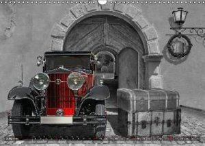 Vintage cars on travel (Wall Calendar 2015 DIN A3 Landscape)
