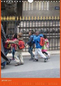 Paris et les enfants (Calendrier mural 2015 DIN A4 vertical)