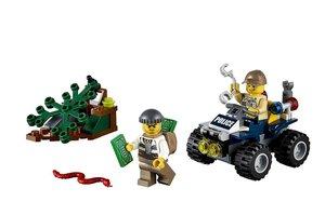LEGO 60065 - City: auf Streife im Sumpfpolizei-Quad