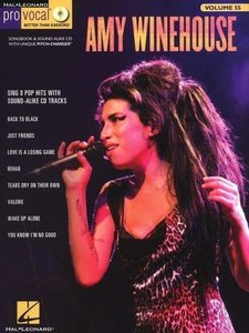 Amy Winehouse: Pro Vocal Women's Edition Volume 55