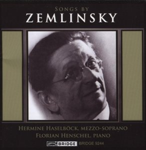 Songs by Zemlinsky