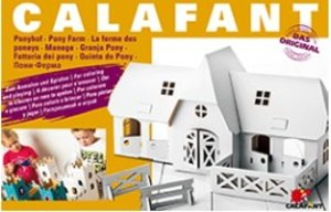 Calafant D2509X - Ponyhof, LEVEL 3, 67,5 x 36 x 33,5 cm