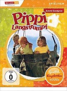 Pippi Langstrumpf Spielfilm-Box (4DVDs)