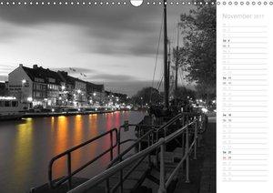 Emden - Seehafenstadt am Dollart (Wandkalender 2017 DIN A3 quer)