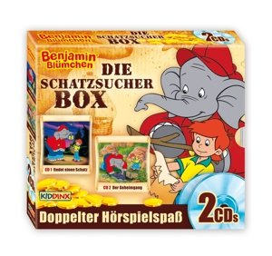 Benjamin Blümchen. Schatzsucher-Box (Folge 59 + 99)