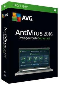 AVG AntiVirus 2016 (3 PC)