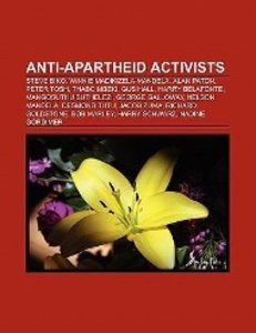 Anti-apartheid activists