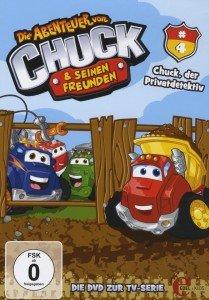 (4)DVD z.TV-Serie-Chuck,Der Privatdetektiv