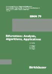 Bifurcation: Analysis, Algorithms, Applications