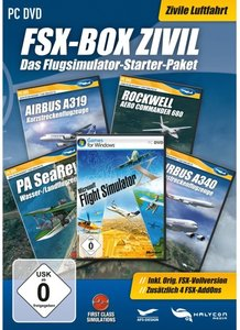 Flight Simulator X - Box Zivil