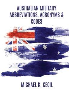 Australian Military Abbreviations, Acronyms & Codes