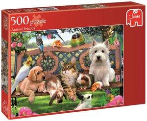 Animal Friends - 500 Teile Puzzle