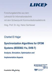 Synchronization Algorithms for OFDM Systems (IEEE802.11a, DVB-T)