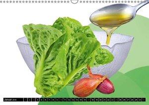 Salat & Gemüse (Wandkalender 2016 DIN A3 quer)