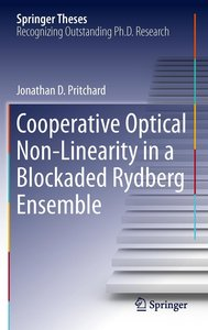 Cooperative Optical Non-Linearity in a Blockaded Rydberg Ensembl