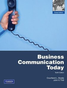 Business Communication Today with MyBusCommLab Pack