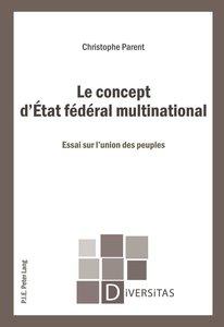 Le concept d'État fédéral multinational