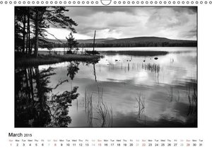 Scotland Landscape beyond Time (Wall Calendar 2015 DIN A3 Lands