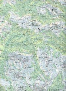 Swisstopo 1 : 25 000 Laufenburg