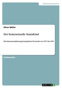 Der homosexuelle Staatsfeind