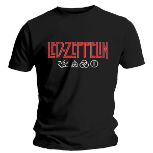 Logo & Symbols-T-Shirt Size L