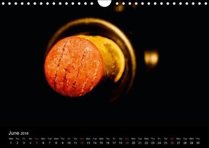 Wine / UK-Version (Wall Calendar 2016 DIN A4 Landscape)