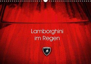 Lamborghini im Regen
