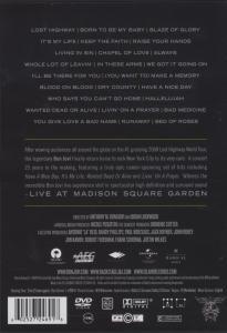 Bon Jovi - Live at Madison Square Garden - zum Schließen ins Bild klicken